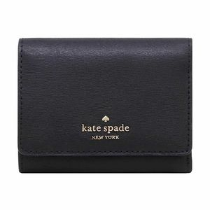Kate Spade Connie Black Small Trifold Wallet NWT